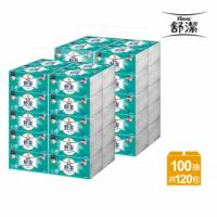 【舒潔 x momo獨家】柔韌潔淨抽取衛生紙100抽x60包/*2箱