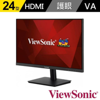 【ViewSonic 優派】VA2406-H-2  24 吋 Full HD 電腦螢幕(16:9/VA/60Hz/HDMI/VGA)