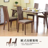 【RICHOME】1074款歐風餐椅-2入(2色)