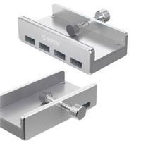 IS4PU 鋁合金四孔USB 3.0 HUB擴充桌夾