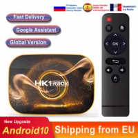 Android tv box Android 10 HK1 RBOX RK3318 4k Dual Wifi Media player smart tv box tv Set top box android tv consoles
