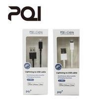 【PQI 勁永】PQI i-Cable Lightning MFI認證 全向式USB傳輸充電線 180cm(Lightning MFI認證)