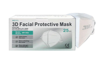 3D口罩 FFP2口罩 單片包裝 25片/盒