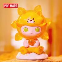 POP MART Dimoo Zodiac Series ของเล่นรูป Action Figure ของขวัญวันเกิดของเล่นเด็กจัดส่งฟรี