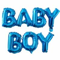 60*30ซม.ทารกฝักบัวทองฟอยล์บอลลูนBoyสาวฝักบัวอาบน้ำเพศReveal Partyอุปกรณ์ตกแต่ง