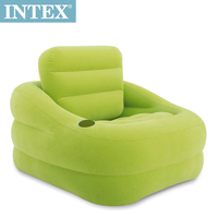 【INTEX】歐式充氣沙發-可拆式靠背