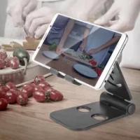 1 Buah untuk Dudukan Telepon Penyangga Telepon untuk IPhone Xiaomi Samsung Huawei Dudukan Tablet Dudukan Telepon Seluler Meja Dapat Disesuaikan