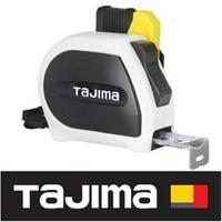 【Tajima 田島】自動固定捲尺STD 5.5米x25mm/魯班 附安全扣(SFSSS2555R-TW)