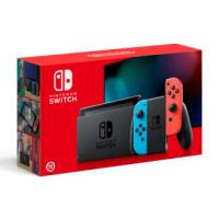 【Nintendo 任天堂】Switch電光藍 紅Joy-Con續航力加強版主機(台灣公司貨).
