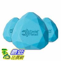 [106美國直購] iBeacon 信標 i8 Water-Resistant Silicone h LE 4.0 Programmable Beacon, 3-Pack