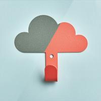 掛勾 雲朵造型掛勾 白雲黏貼掛勾 居家掛鉤 黏膠掛鉤 居家裝飾 免釘掛勾【RS1206】