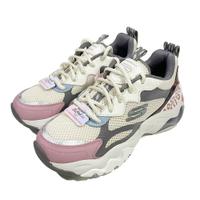 (B8) SKECHERS 女鞋D'LITES 3.0 AIR 老爹鞋 氣墊 厚底 149260NTMT豹紋粉【陽光樂活】