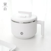 ins日式304不銹鋼泡面碗帶蓋把手防燙便攜學生宿舍可愛大飯盒餐具
