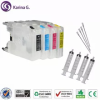 Refillable Ink Cartridges LC12 LC40 LC71 LC73 LC75 LC400 LC1220 LC1240 Suit For Brother MFC J435W J835DW J280W J425W etc.