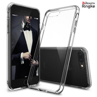 【Ringke】iPhone 8 Plus / 7 Plus 5.5吋 (Fusion) 透明背蓋防撞手機殼(Rearth Ringke 軍規防摔透明手機殼)
