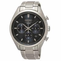 刷卡滿3千回饋5%點數|Seiko CS系列 8T63-00C0B(SSB223P1)日系紳士計時腕錶/深藍面42mm