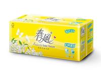 春風 柔韌細緻 抽取式 衛生紙110抽x12包x6串 / 箱