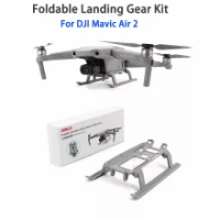 DJI Mavic Air 2/DJI Air 2S Landing Gear Foldable Landing Skid Kit Extended Expansion For DJI Mavic Air 2 Drone Accessories