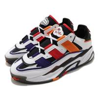 【adidas 愛迪達】休閒鞋 Niteball 流行 男鞋 愛迪達 三葉草 皮革鞋面 穿搭 白 紅(S24182)