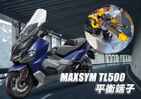 三陽 SYM  MAXSYM TL500 刻花平衡端子 車把端子 裝飾端子 老虎摩配