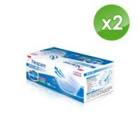 【3M】醫用口罩成人散裝50枚入x2盒-藍色