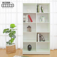 【南亞塑鋼】3尺開放式10格防水塑鋼書櫃/十格收納櫃/展示櫃(白色)