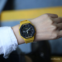 卡西歐新款橡樹八角碳纖維運動手錶GA-2110SU-9A 3A GA-2100SU-1A eaR8