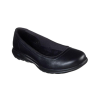 SKECHERS系列-Go Walk Lite-Finest女款黑色輕量好穿休閒鞋-NO.16371BBK