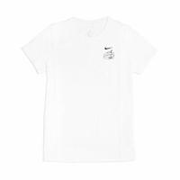【NIKE 耐吉】T恤 Taiwan T Bubble Tea 女款 台灣 珍珠奶茶 塗鴉 圓領 棉質 白 黑(CZ3598-100)