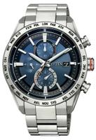 刷卡滿3千回饋5%點數|CITIZEN星辰 AT8181-63L 光動能電波對時鈦金屬時尚男錶