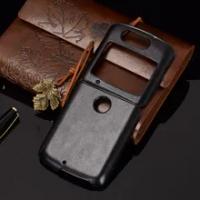 For Motorola Razr 5G / Razr 2 Case Litchi Pattern Skin PU Leather PC Hard Back Cover For Motorola Moto Razr 5G / Razr 2020