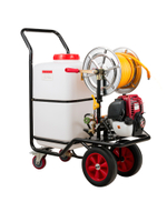 農用電動噴霧器 汽油打藥機手推式消毒高壓打農藥電動打藥機60升噴藥機農用噴霧器【HZL911】