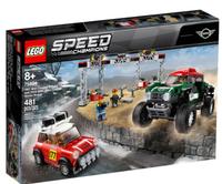 LEGO 樂高 SPEED 系列 1967 Mini Cooper S Rally and 2018 MINI JC 75894