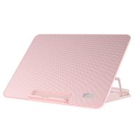 筆電散熱器降溫底座電腦支架聯想華碩戴爾14寸15.6寸靜音粉色【快速出貨】