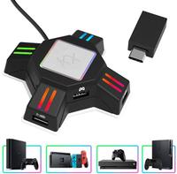 【日本代購】JOOKYO轉換器ps4鍵盤滑鼠連接適配器 相容 Nintendo Switch