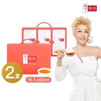【享食尚】滴雞精15入(60ml/入)X2盒(TVBS藍心湄)
