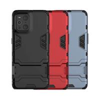 OPPO Find X3 Pro 雙層保護殼鎧甲盾支架全包手機殼背蓋