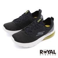 Skechers GOWALK AIR 2.0 黑灰 氣墊鞋墊 固特異鞋底 健走鞋 男款 NO.B2270【新竹皇家 216153BKYL】