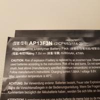 全新 ACER 宏碁 AP13F3N 原廠電池 S7-392 S7 S7-392-54208G 內置電池 更換簡單