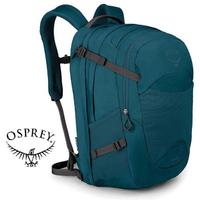 【Osprey 美國】NOVA 32 電腦背包 15吋筆電背包 城市背包 旅行背包 女款 埃塞藍〈容量32L〉(Nova32)