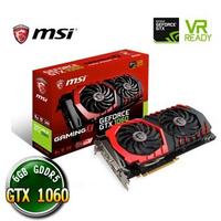 【買一送一】 MSI 微星 GTX 1060 GAMING X 6G 顯示卡 隨機送百元小禮
