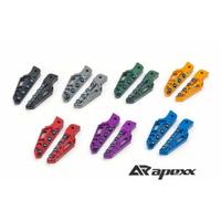 【LFM】APEXX 極度飛旋踏桿 鍍鈦螺絲 勁戰六代 SMAX FORCE JETS 雷霆S JOYMAX 勁戰五代 勁戰四代