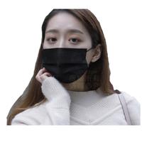 【Nick Shop】成人防塵口罩50入-黑色(非醫療用口罩/防塵口罩)
