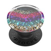 【PopSockets 泡泡騷】時尚手機氣囊伸縮支架 二代 可替換 美國 No.1(流沙雪佛)