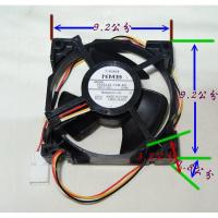 變頻冰箱 DC 直流 風扇 12V 4線 長寬9.2公分 送風馬達