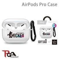【iJacket】迪士尼 米奇 AirPods Pro 抗菌 透明保護套(總代理商公司貨)