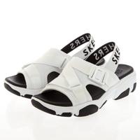 【SKECHERS】女 休閒系列涼鞋 DADDY-O(163051WBK)