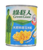 綠巨人天然特甜玉米粒 195公克