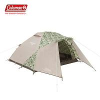【露營趣】新店桃園 Coleman CM-35352 旅遊露營帳 大自然迷彩 2-3人 家庭帳篷 帳棚 野營 露營 野餐