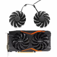 T129215SU PLD09210S12HH Cooler Fan For Gigabyte NVIDIA GeForce GTX 960 4GD P106-100 6G RADEON RX580 570 RX470 480 Gaming 4G Card
